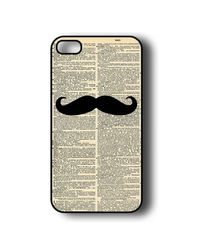 Snoogg Mobile Case Print Design - Newspaper I Mustache You For Apple iPhone 5 & 5S, multicolor