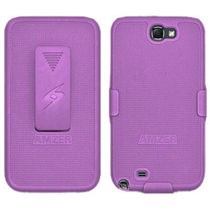 Amzer 94950 Shellster   Purple   Samsung Galaxy Note II GT N7100