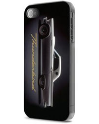 Thunderbird Glossy Hard Case Black+ Screen protector for iPhone 5/5S,  black