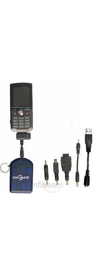 Callmate USB & 5 In 1 Emergency Charger (Black)