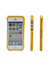 Callmate Cleave Aluminum Bumper Cover for iPhone 4/4S, golden