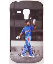iAccy Virat Kohli Signature-02 Cover for Samsung Galaxy S Duos, multicolor