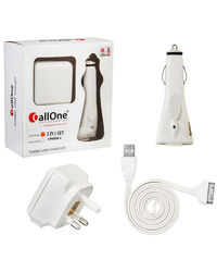CallOne Turbo Charger 3 in 1 Set iPhone 4