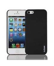 Aircase Matt Finish Back Cover For iPhone 5, black