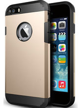 Callmate Tough Hybird Hard Back Cover For IPhone 6 4.7 Inch With Free Screen Guard - Golden, Gold
