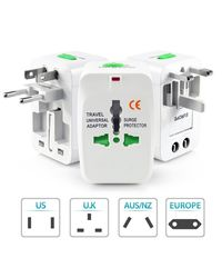 Novel Universal World Wide Travel Charger Adapter & Surge Plug