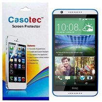 Casotec Tempered Glass Screen Protector for HTC Desire 820,  clear