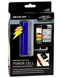 Sound Logic XT Portable 2600mAh Power Cell,  blue