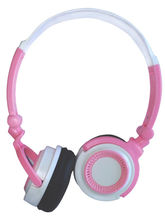 Power Ace PSH-001 Stereo Headphone, Pink