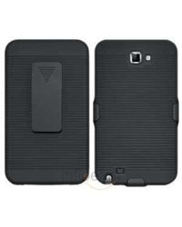Amzer Shellster - Black for Samsung Galaxy Note, standard-black
