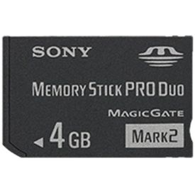 Sony 4GB Memory Stick Pro Duo Memory Card