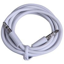 Cell First 3.5Mm Male Aux Auxiliary Cable Cord For Apple Ipod/Iphone/Ipad,  white