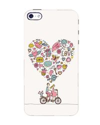 Flashmob Designer Back Cover for Apple iPhone 4, 4S (3D-iPhone4-D851)