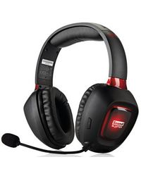 Creative Headphone Gam Tactic 3D Rage,  black red
