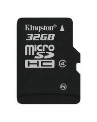 Kingston Micro SD Card, standard-black, 32 gb