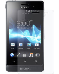 Amzer Kristal Clear Screen Protector - Sony Xperia Go ST27i, standard-clear