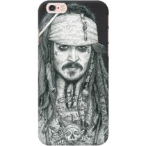 DailyObjects Captain Jack Inked Case For iPhone 6s