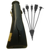 Callone USB Car Charger Multi 6 in 1,  black