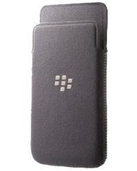 BlackBerry Microfiber Pocket Cover for BlackBerry Z10,  grey