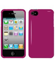 Amzer Injecto Snap On Hard Case For IPhone 4S, Hot Pink