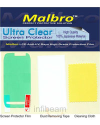 Malbro Ultra Clear Screen Protector (Platinum Series) For Nokia X3-02, standard-white
