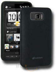 Amzer Silicone Case Black for HTC HD2