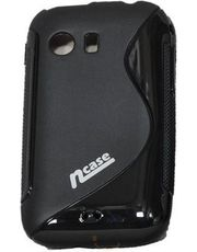 Ncase Cover For Samsung S5360 Galaxy Y(Black)