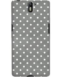 DailyObjects Dark Gray Swiss Dots Case For OnePlus One