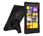 Amzer Double Layer Hybrid Cover with Kickstand for Nokia Lumia 1020, black