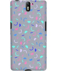 DailyObjects Confetti Blue Case For OnePlus One