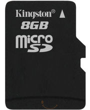 Kingston Micro SD Card (Black, 8 GB)