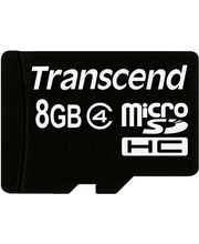 Transcend Micro SDHC Card (Black, 8 GB)