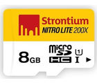 Strontium 8GB Nitro 200x Micro UHC Card, multicolor, 8 gb