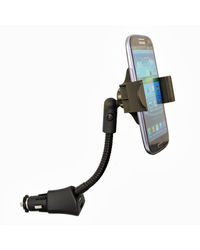Callmate Universal Car Holder & Car Charger for All Phones,  black