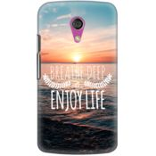 DailyObjects Breath Deep Case For Motorola Moto G2