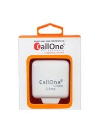 CallOne 2A Turbo Fast Charger With Data Cable