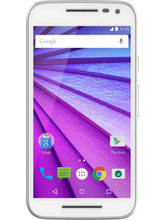 Moto G (3rd Generation) Unboxed (16 GB), white