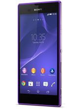 Sony Xperia T3, purple