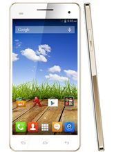 Micromax Canvas HD Plus A190, white gold