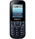 Samsung Guru Music E1282 Mobile (Blue Black)