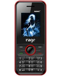 Rage Nano Plus,  black red