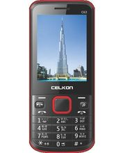 Celkon C63, Black Red