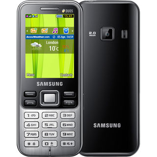 Samsung C3322 Metro Duos (Red) available at Infibeam for Rs.3450