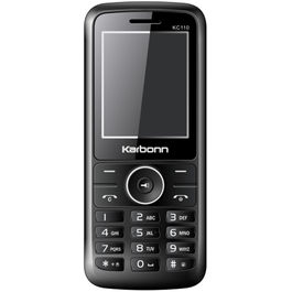 Karbonn KC-110,  black white