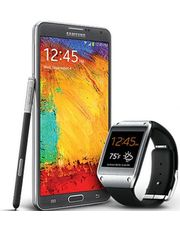 Samsung Galaxy Note 3 With Galaxy Gear Combo