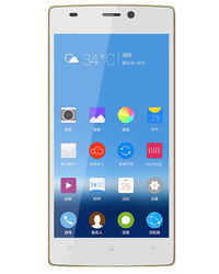 Gionee S5.1, white-gold