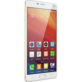 Gionee M5 Plus, pollar gold