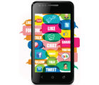 Karbonn A2+ Android Smart Phone (Black)