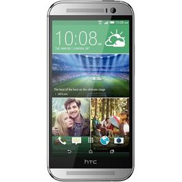HTC One M8, amber gold