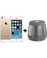 Apple IPhone 5S+ Pair Of JAM Plus Speaker (Gold) (64 GB)